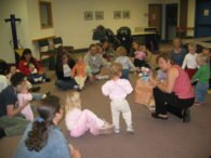 Storytime at Harmony Library