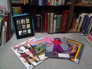 books&Magazines close-up