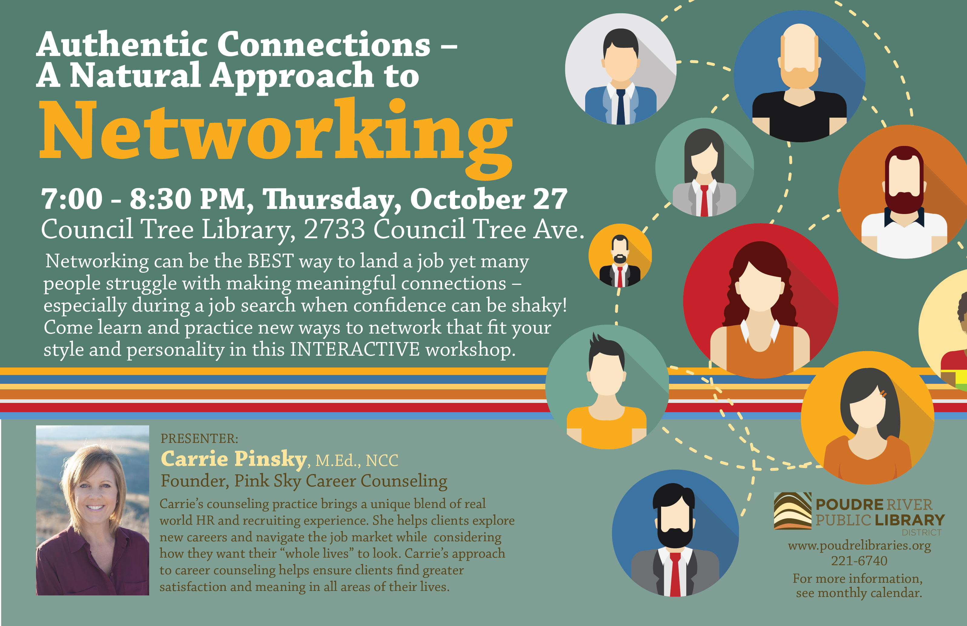 networking is still a face to face activity poudre river public 10 27 authenticnetworking 01