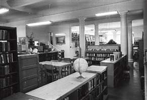 Main Library at the Carnegie Building, 1967